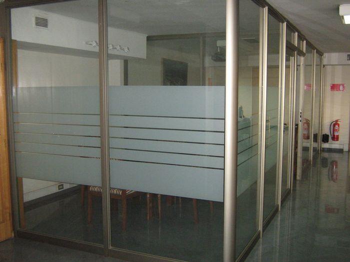 Aluminios abasil tabiquer a de aluminio y vidrio - Paneles divisorios para oficinas ...